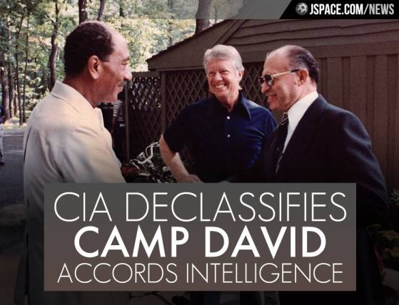 La CIA desclasifica memos de inteligencia de acuerdos de Camp David
