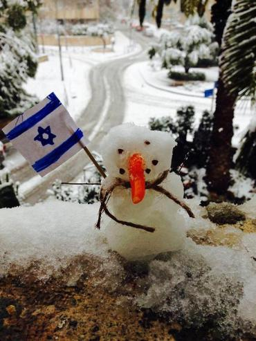Muñecote de nieve Sabra