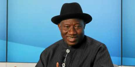 El Presidente de Nigeri Goodluck Jonathan
