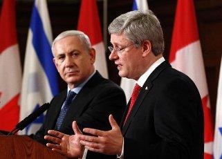 Canada tierra bendecida por Hashem apoya a Israel contra Iran