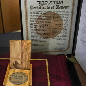 yad+vashem+onderscheiding+Jos+Schuurman