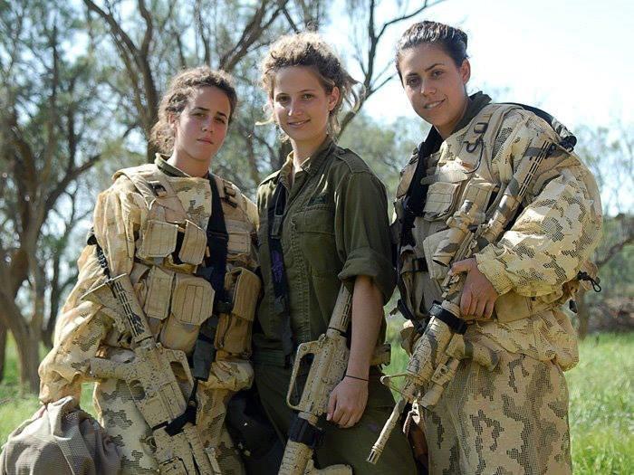 Chicas IDF
