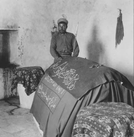 keystone inside Joseph's tomb