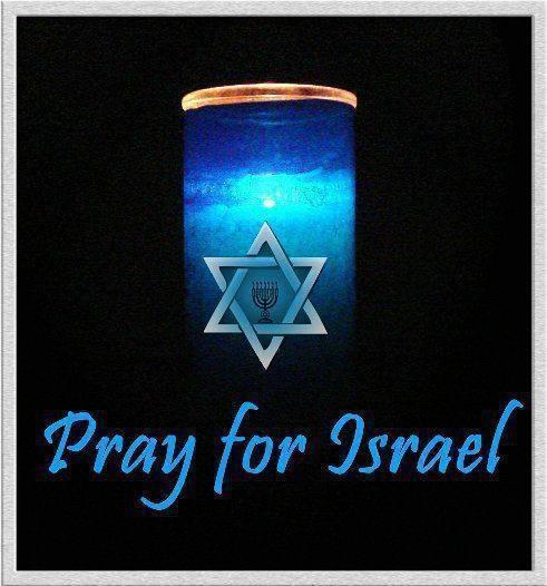 Pray for Israel reza por Israel