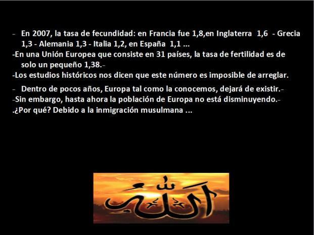 Diapositiva Demografia musulmana 5
