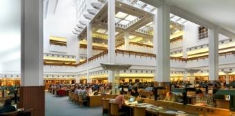 La sala de lectura de la Biblioteca Británica