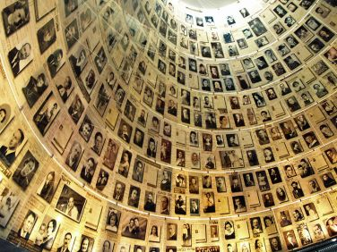yad-vashem sala de nombres de los archivos de la Shoá en Jerusalén