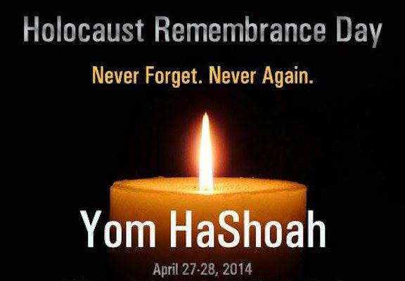Yom HaShoah Abril27 28 4014