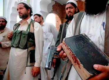Coran con sangre