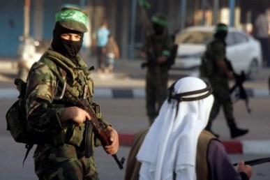 Gaza terroristas Crédito de la foto Abed Rahim Khatib