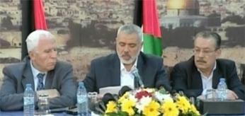 Ismail Haniyeh firma acuerdo Hamas Fatah