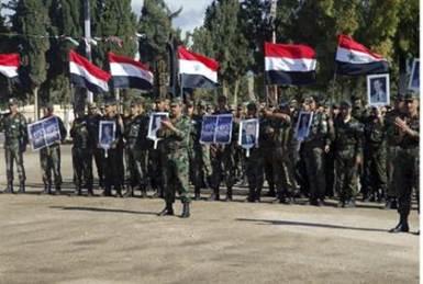 Las fuerzas leales al presidente de Siria, Bashar al-Assad