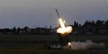 Sistema de defensa antimisiles Cúpula de Hierro se lanzó contra un cohete terrorista entrante. (Foto: IDF)