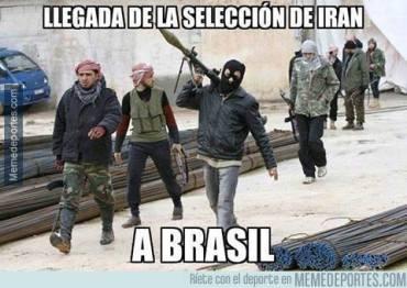 Comenzo el Mundial! LLegada de la seleccion de Iran a Brasil
