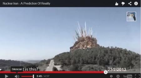 Ataque nuke israel