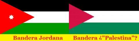 Bandera jordana-palestina