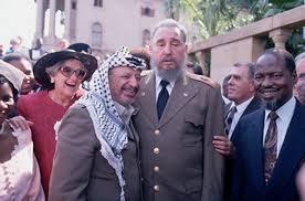 Castro y Arafat