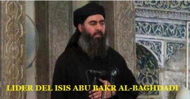 Lider del isil Abu Bakr al-Baghdadi
