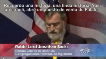 Rabbi Lord Jonathan Sacks en discurso magistral.