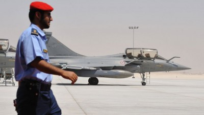 Aviones franceses en Irak