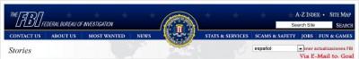 Caratura The FBI