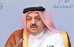 El ministro de Relaciones Exteriores de Catar, el jeque Jalid al Atiyah.