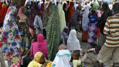 Las incursiones de Boko Haram han dejado cientos de desplazados.