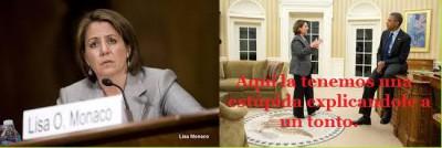 Lisa Monaco principal asesora antiterrorista de Obama