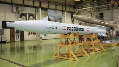 Misil Fatech-10 para buques irani
