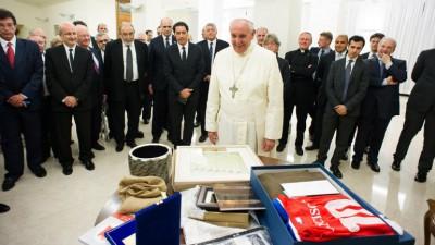 papa pancho con el WJC Congreso Judio Mundial