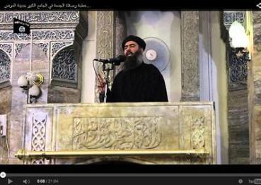 Supuesto lider del USIS al-Baghdadi