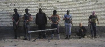 Yihadistas en las afueras de Faluya