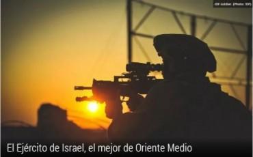 Ejercito de israel el mejor de orieente medio