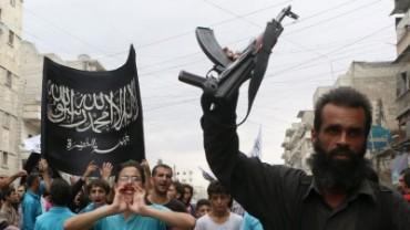 Frente al Nusra de al-Qaeda en Siria.
