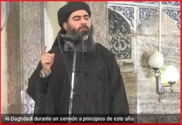 Abu Bakar en un sermón a principios de año