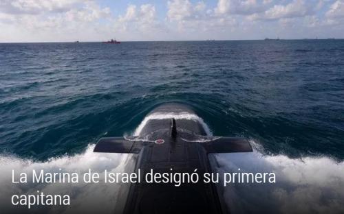 La marina de guerra de israel designa a su priera capitana.