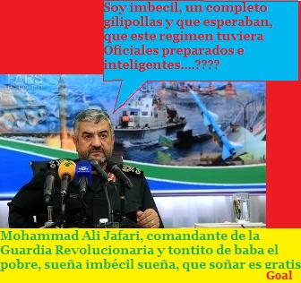 Mohammad Ali Jafari Cmnte de la Guardia Revolucionaria Irani