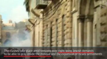 Rezar en la mezquita los judios...