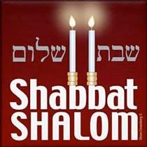 Shabat Shalom con velas