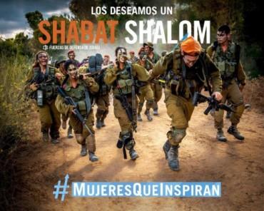 Shabat Shalom IDF chicos y chicas