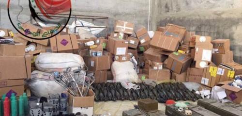 Arnas y provisones decomisadas al Frente Al-Nusra