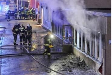 Ataque contra mezquita en suecia