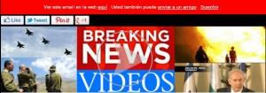 CARATULA DE BREAKING NEWS VIDEOS