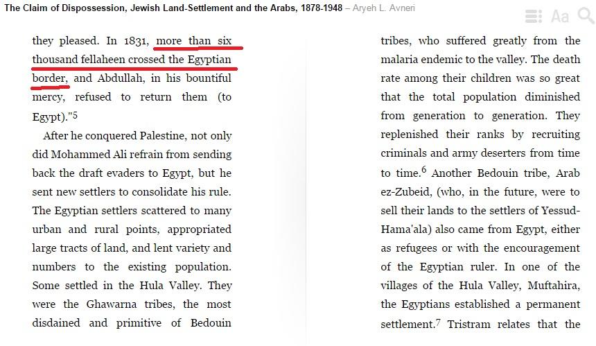colonizacion egipcia inicio