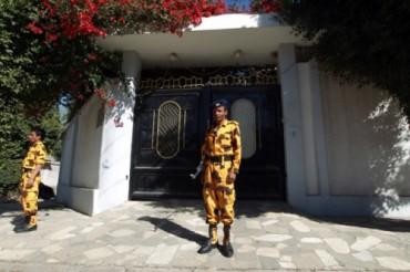 Iranian ambassador home (AFP)