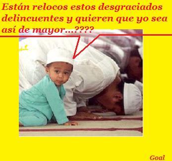 su-musulmanes-rezando-ninocon texto
