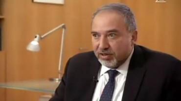 Avigdor Liberman Ministro de Relaciones Exteriores Israel