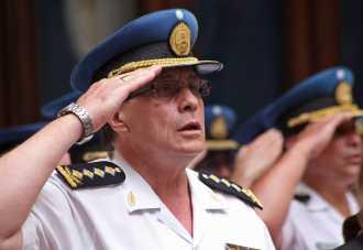 Comisario General Román Argentino Di Santo, jefe de la Policía Federal. Foto-NA.