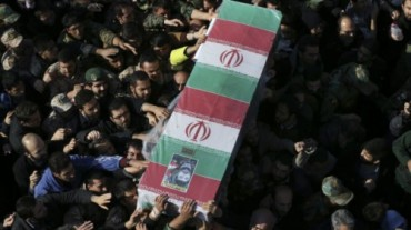 Entierro de Gral de Brigada Guardia Revolucionaria Mohammad ali Allahdadi