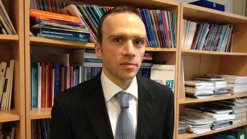 Marck Hecker Oficina de Instituto Frances de Relaciones Internacionales